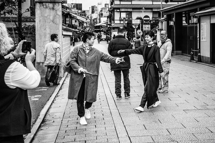 Hanamikoji Dori, Gion, Kyoto 2015