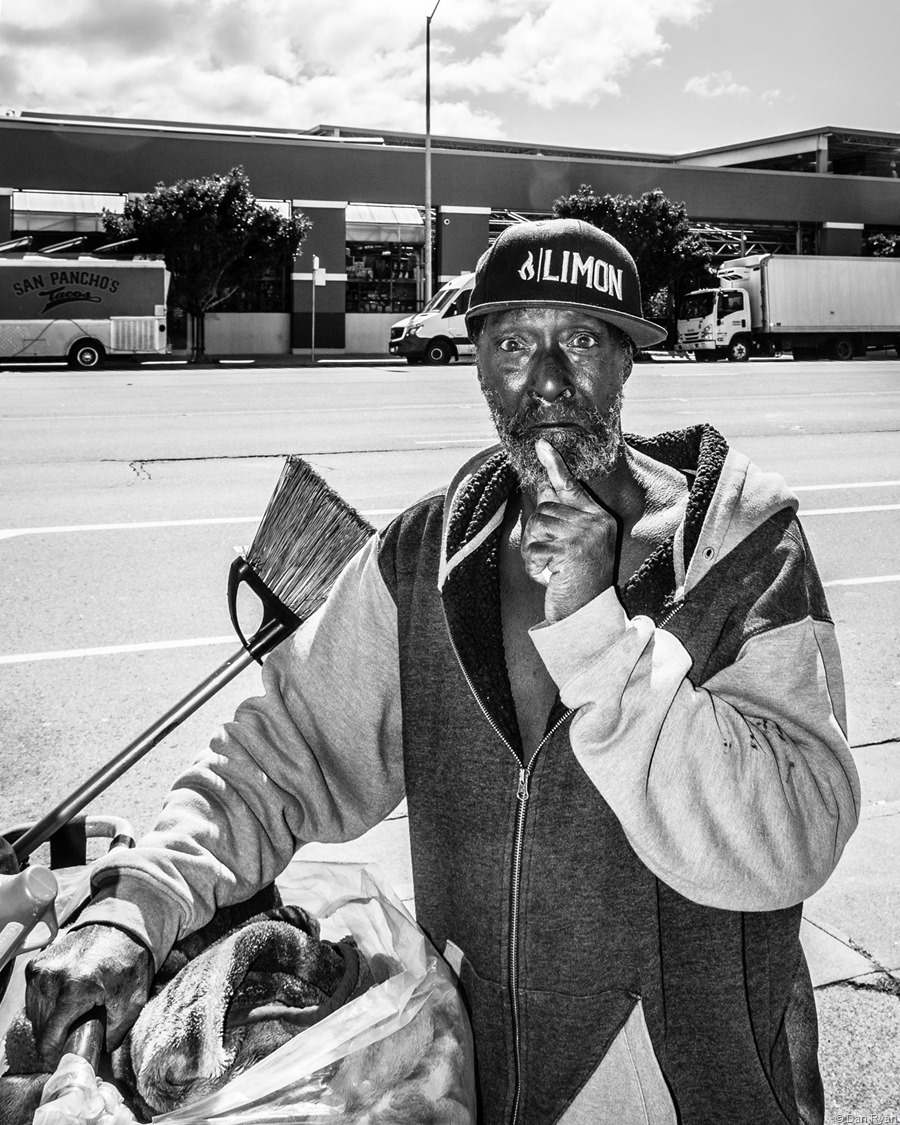 Homeless man San Francisco