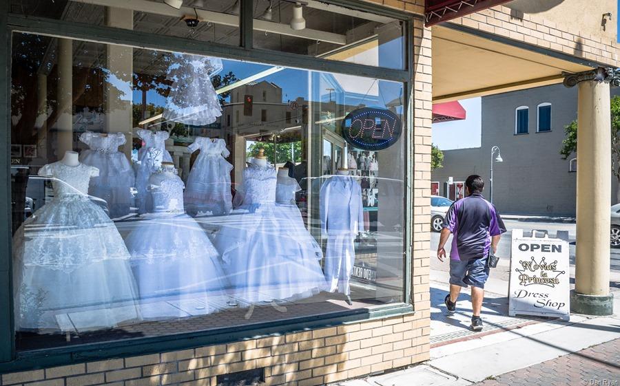 A shop on San Bruno Street, part 1... Hollister, California, June 2021